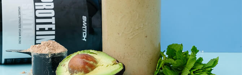 CHOC MINT PROTEIN SMOOTHIE