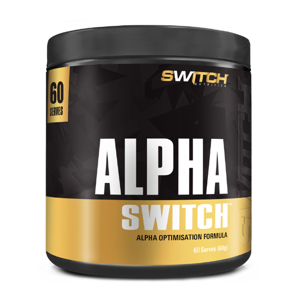 ALPHA SWITCH |  60 SERVES