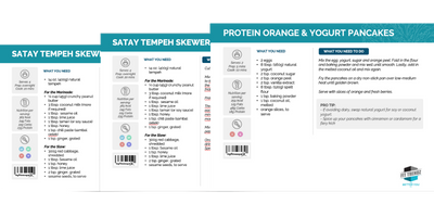 FIT TRENDZ PLANT-BASED 58 RECIPE PACK