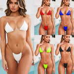 Sexy Swimwear Women 2020 Micro Bikini Thong Brazilian Bikinis Set G-string Swimsuits Swimming Beach Wear 2 Piece Bathing Suits