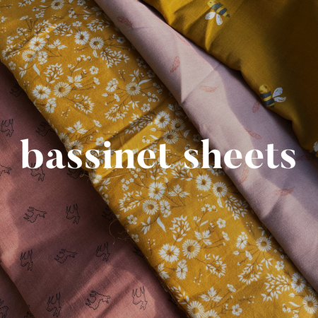 Bassinet Sheets / Change Mat Covers