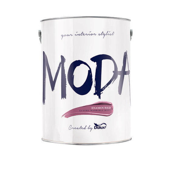 Dulux Moda Enamoured  5L - T.O'Higgins Homevalue - Galway