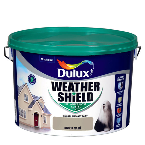 Dulux Weathershield Knock Na Ri  10L - T.O'Higgins Homevalue - Galway