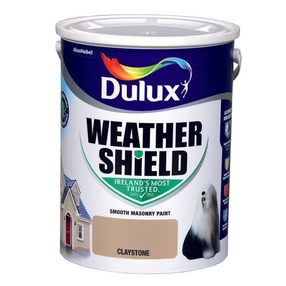 Dulux Weathershield Claystone 5L - T.O'Higgins Homevalue - Galway