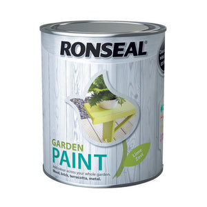 Ronseal Garden Paint 750ml Lime Zest - T.O'Higgins Homevalue - Galway