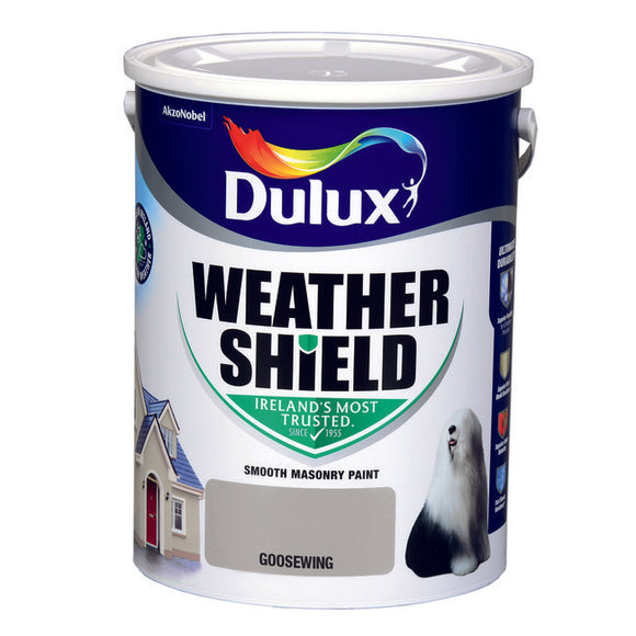 Dulux Weathershield Goosewing  5L - T.O'Higgins Homevalue - Galway