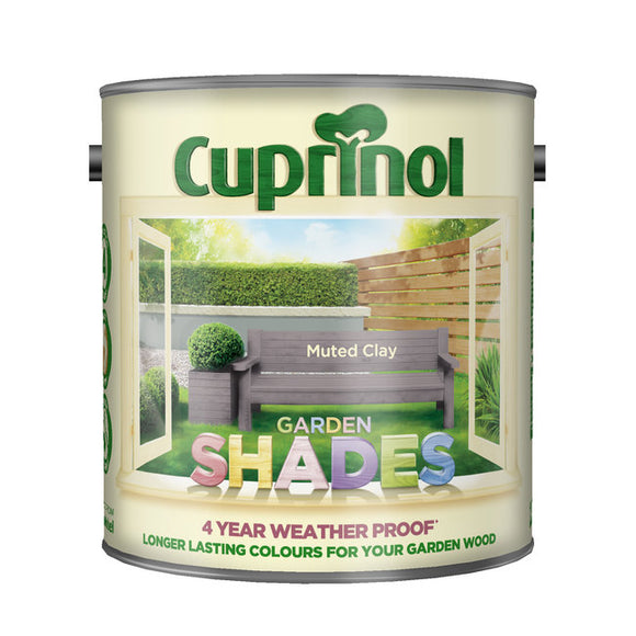Cuprinol Garden Shades Muted Clay 2.5L - T.O'Higgins Homevalue - Galway