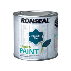 Ronseal Garden Paint 250ml Midnight Blue - T.O'Higgins Homevalue - Galway