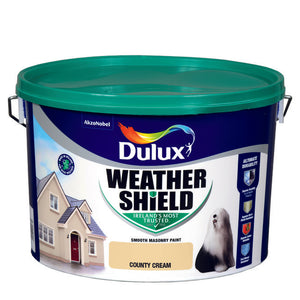 Dulux Weathershield County Cream 10L - T.O'Higgins Homevalue - Galway