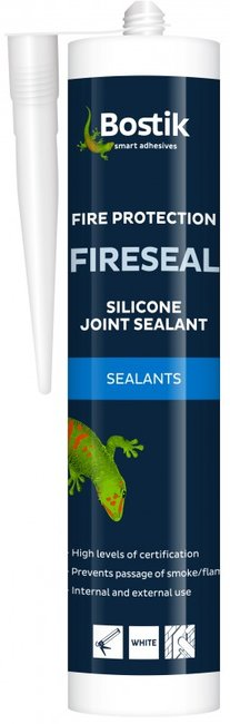 Bostik Fireseal Silicone Cartridge - T.O'Higgins Homevalue - Galway