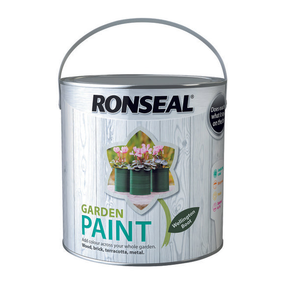 Ronseal Garden Paint 2.5L Wellington Boot - T.O'Higgins Homevalue - Galway