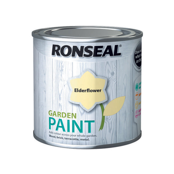 Ronseal Garden Paint 250ml Elderflower - T.O'Higgins Homevalue - Galway