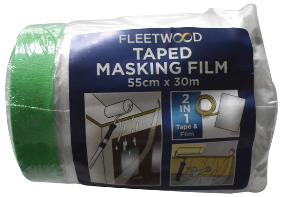 Fleetwood Taped Masking Tape 55cm x 30m - T.O'Higgins Homevalue - Galway