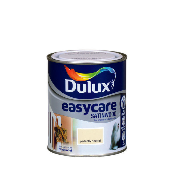 Dulux Easycare Satinwood (750Ml) Perfectly Neutral - T.O'Higgins Homevalue - Galway