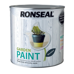Ronseal Garden Paint 2.5L Blackbird - T.O'Higgins Homevalue - Galway