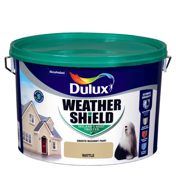 Dulux Weathershield Wattle 10L - T.O'Higgins Homevalue - Galway