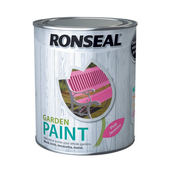 Ronseal Garden Paint 750ml Pink Jasmine - T.O'Higgins Homevalue - Galway