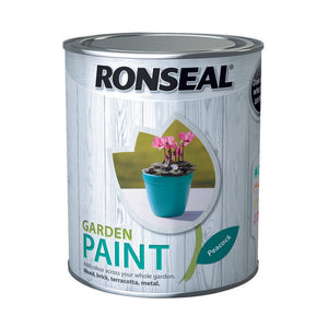 Ronseal Garden Paint 750ml Peacock - T.O'Higgins Homevalue - Galway