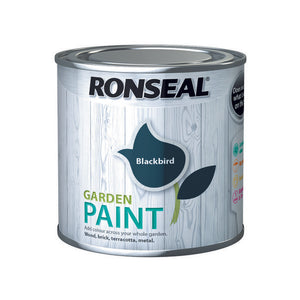 Ronseal Garden Paint 250ml Blackbird - T.O'Higgins Homevalue - Galway