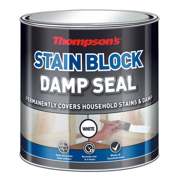 Thompson's Stain Block Damp Seal 2.5L - T.O'Higgins Homevalue - Galway