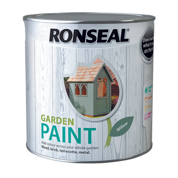 Ronseal Garden Paint 2.5L Willow - T.O'Higgins Homevalue - Galway