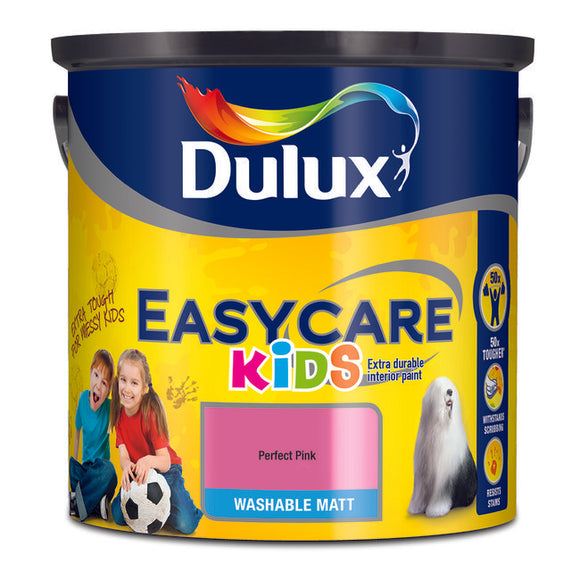 Dulux Easycare Kids Perfect Pink  2.5L - T.O'Higgins Homevalue - Galway