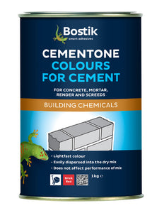 Bostik Cementone Powder Cement Dye Brick Red 1Kg - T.O'Higgins Homevalue - Galway