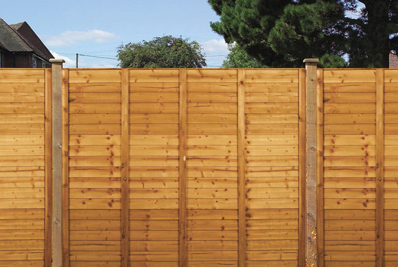 Garden Living Shiplap Fence Panel - 1.8m x 1.8m - T.O'Higgins Homevalue - Galway