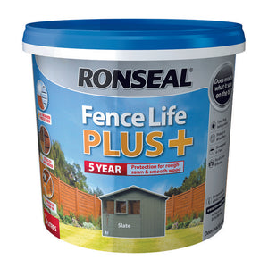 Fence Life Plus 5L Slate - T.O'Higgins Homevalue - Galway