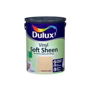 Dulux Vinyl Soft Sheen Natural Cream  5L - T.O'Higgins Homevalue - Galway