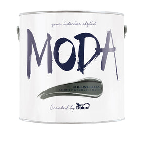 Dulux Moda Collins Green 2.5L - T.O'Higgins Homevalue - Galway