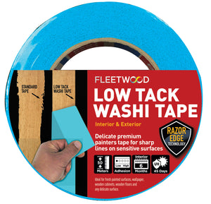 Fleetwood Low Tack Washi Tape 1.5 inch - T.O'Higgins Homevalue - Galway