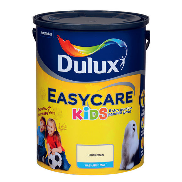Dulux Easycare Kids Lullaby Cream  5L - T.O'Higgins Homevalue - Galway