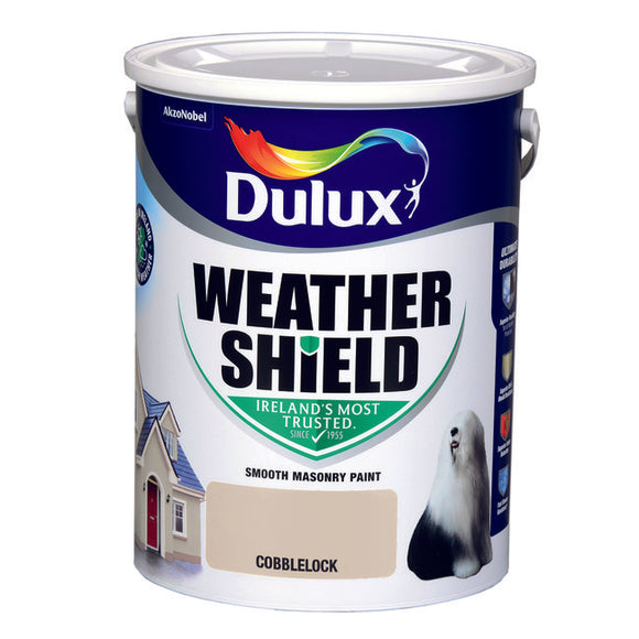 Dulux Weathershield Cobblelock 5L - T.O'Higgins Homevalue - Galway