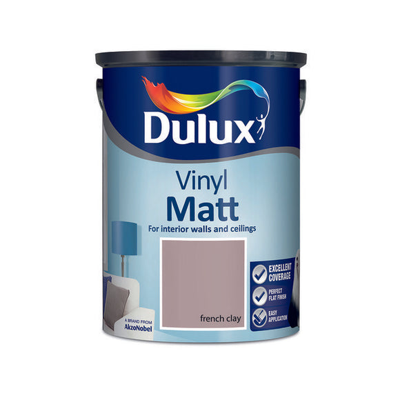 Dulux Vinyl Matt French Clay 5L - T.O'Higgins Homevalue - Galway