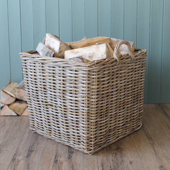Set of 3 Square Kubu Baskets - T.O'Higgins Homevalue - Galway