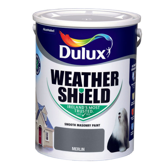 Dulux Weathershield Merlin  5L - T.O'Higgins Homevalue - Galway