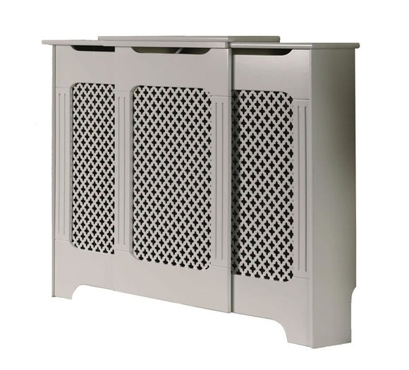 Tema Classic Adjustable White Rad Cover Large - T.O'Higgins Homevalue - Galway