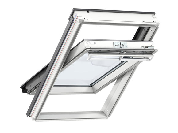 Velux White Painted Centre Pivot Roof Window - 66X118Cm - T.O'Higgins Homevalue - Galway