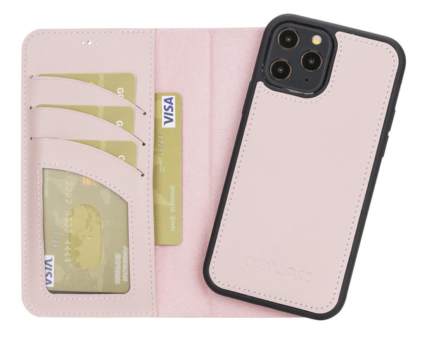 "Magic Case iPhone 12 Pro (6.1"") - Nude Roze - Oblac"