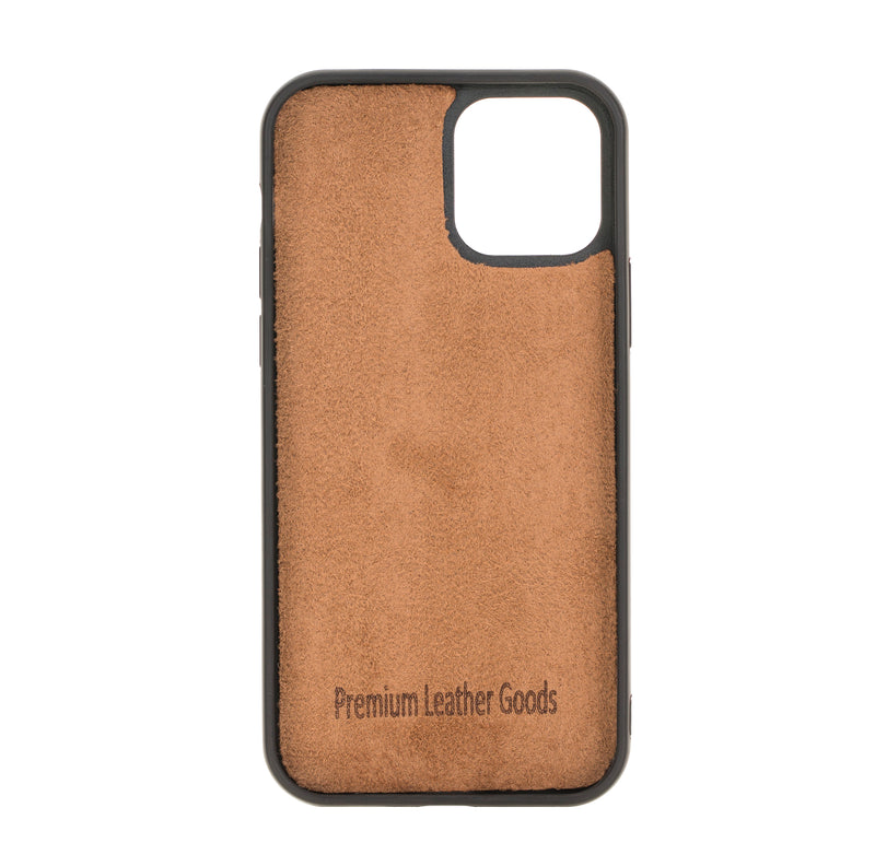 "Flex Cover iPhone 12 Mini (5.4"") - Rustiek Zwart - Oblac"