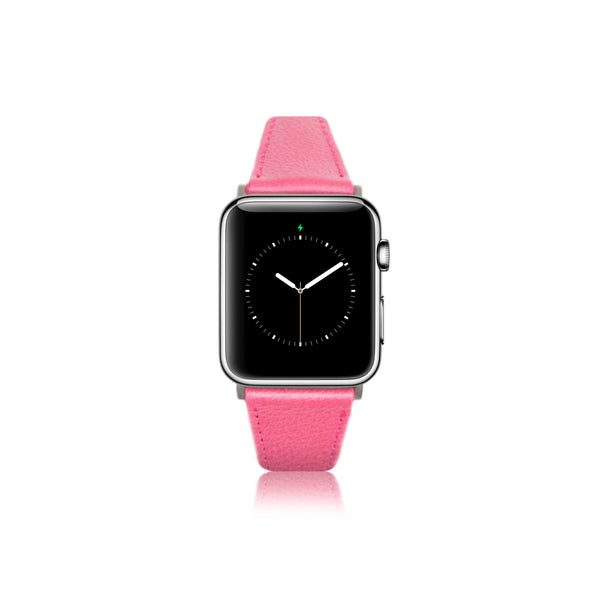 Leren Bandje Apple Watch S - Bordeaux - Oblac