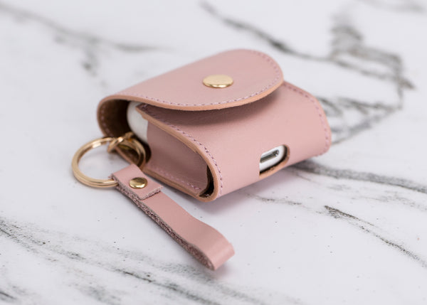 AirPods Hoesje - Nude Roze - Oblac