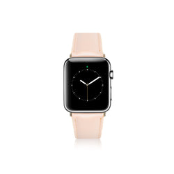 Leren Apple Watch Bandje - Amarant Roze - Oblac