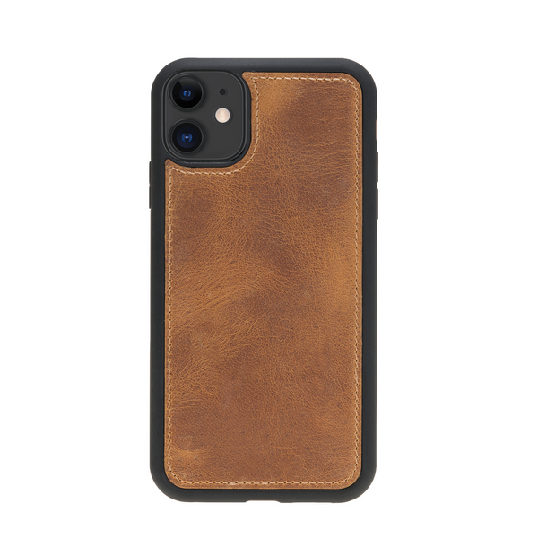 Magic Case Iphone 11 - Goud Bruin - Oblac