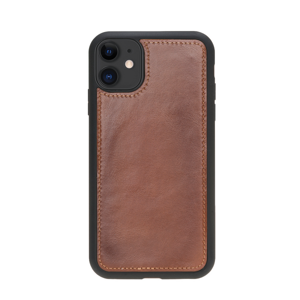 Magic Case Iphone 11 - Cognac Bruin - Oblac