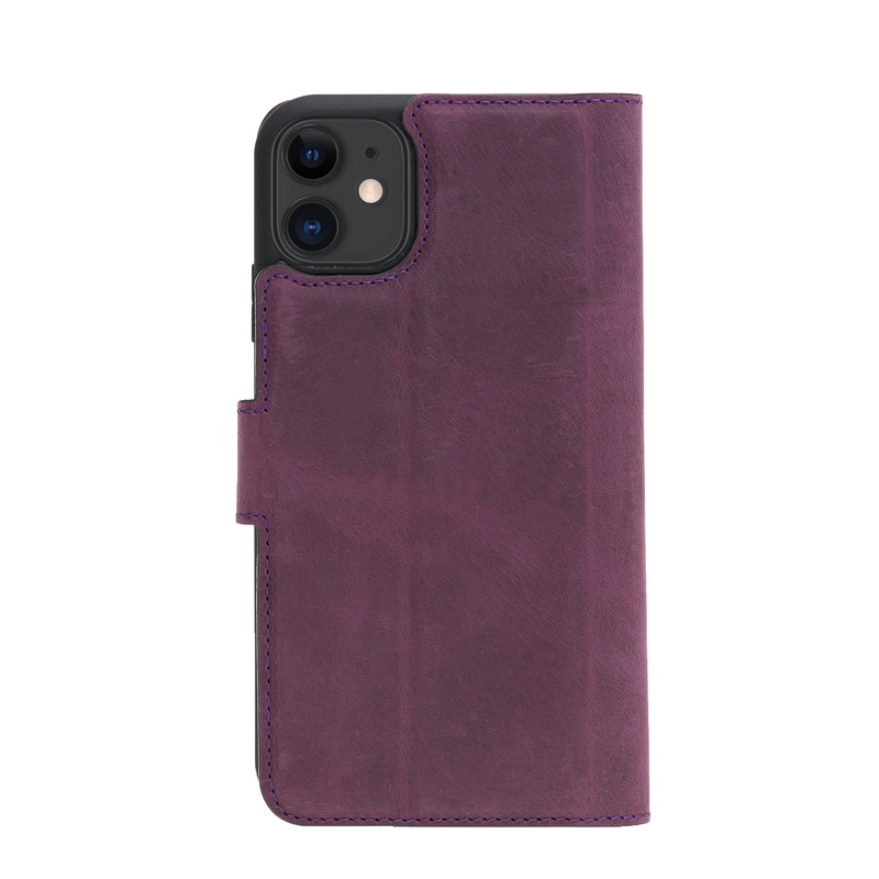 Magic Case Iphone 11 - Antiek Paars - Oblac