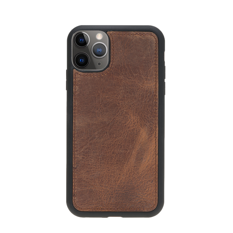 Magic Case Iphone 11 Pro - Antiek Bruin - Oblac