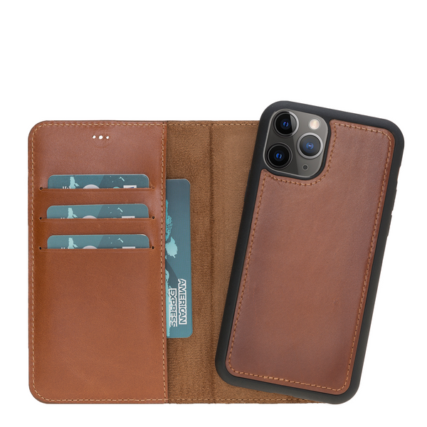 Magic Case Iphone 11 Pro - Cognac Bruin - Oblac