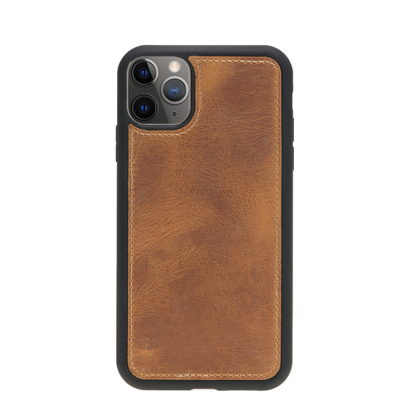 Magic Case Iphone 11 Pro - Goud Bruin - Oblac